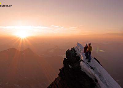 Großglockner Gipfelgrat