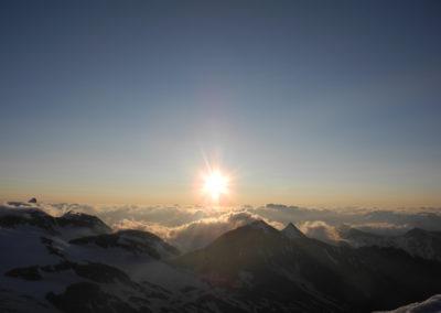 Großglockner Sonnenaufgang